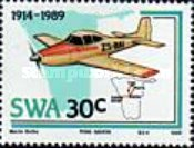 [The 75th Anniversary of Aviation in South West Africa, type NO]