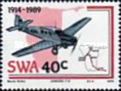 [The 75th Anniversary of Aviation in South West Africa, type NP]