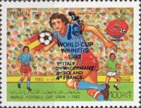 [Winners of the Football World Cup 1982 in Spain, Typ IH]