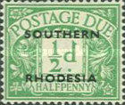 [Numeral Stamps - Great Britain Postage Due Stamps Overprinted