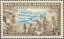 [The 100th Anniversary of the Birth of Cecil Rhodes, type AA]
