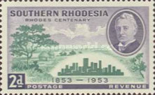 [The 100th Anniversary of the Birth of Cecil Rhodes, type AC]