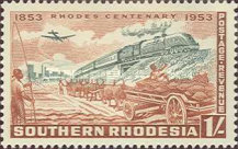 [The 100th Anniversary of the Birth of Cecil Rhodes, type AE]