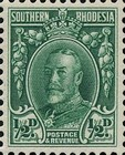 [King George V in Uniform - Different Perforation, type B13]
