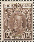 [King George V in Uniform - Different Perforation, type B15]