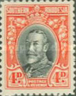[King George V in Uniform - Different Perforation, type B16]