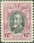 [King George V in Uniform - Different Perforation, type B17]