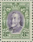 [King George V in Uniform - Different Perforation, type B18]
