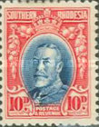 [King George V in Uniform - Different Perforation, type B19]