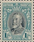 [King George V in Uniform - Different Perforation, type B20]