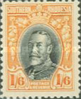 [King George V in Uniform - Different Perforation, type B21]