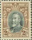 [King George V in Uniform - Different Perforation, type B22]