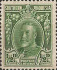 [King George V - Different Perforation, type B24]