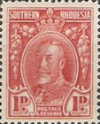 [King George V - Different Perforation, type B25]