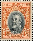 [King George V - Different Perforation, type B26]