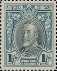 [King George V - Different Perforation, type B28]