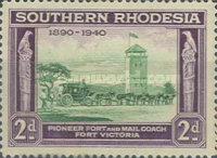 [The 50th Anniversary of British South Africa Company, type L]