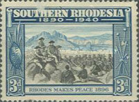 [The 50th Anniversary of British South Africa Company, type M]