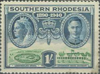 [The 50th Anniversary of British South Africa Company, type P]