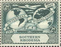 [The 75th Anniversary of Universal Postal Union, type X]