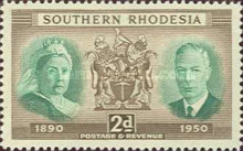 [The 60th Anniversary of Rhodesia, type Z]