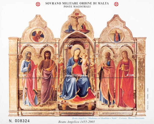 [The 550th Anniversary of the Death of Fra Angelico, 1395-1455, Typ ]