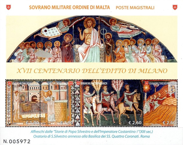 [The 1700th Anniversary of the Milan Edict, Typ ]
