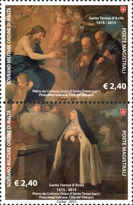 [The 500th Anniversary of the Birth of St. Teresa of Avila, 1515-1582, Typ ]