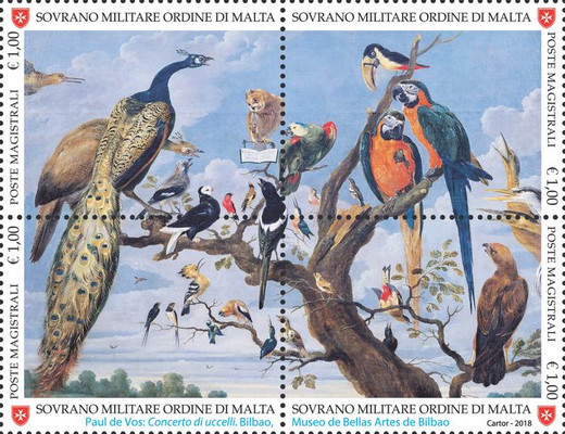 [Nature and Art - Paul de Vos - Concert of Birds, Typ ]