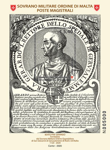 [The 900th Anniversary of the Death of Blessed Fra Gerardo, 1040-1120, Typ ]
