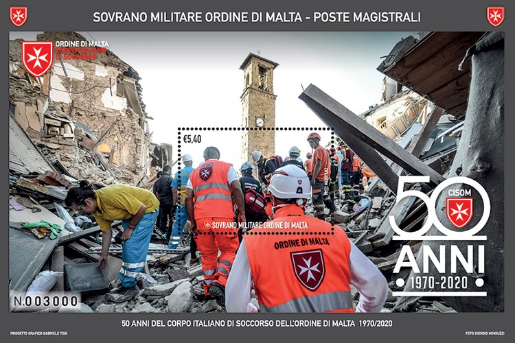 [The 50th Anniversary of the Italian Relief Corps of the Sovereign Military Order of Malta, Typ ]
