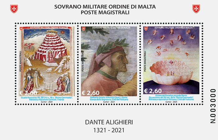 [The 700th Anniversary of the Death of Dante Alighieri, 1265-1321, Typ ]