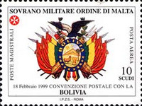 [Airmail - Postal Agreement with Bolivia, Typ AAN]