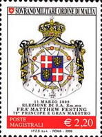 [Election of Fra Matthew Festing to Prince and Grand Master of the Order, Typ AMY]