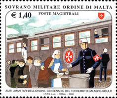 [Humanitarian Aid for the Order and 100th Anniversary of the Calabrian Earthquake, Typ ANS]