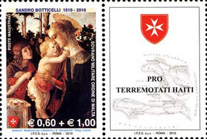 [The 500th Anniversary of the Death of Sandro Botticelli overprinted