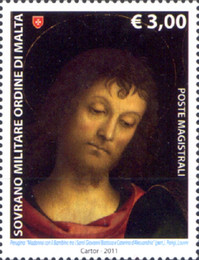 [St. John the Baptist, Patron of the Order, Typ ASU]