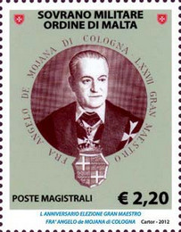 [The 50th Anniversary of the Election of the Grand Master Fra Angelo de Mojana, Typ AUM]