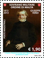 [The 200th Anniversary of the Birth of Giuseppe Verdi, 1813-1901, Typ AWI]