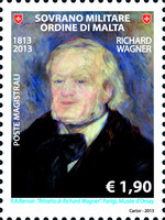 [The 200th Anniversary of the Birth of Richard Wagner, 1813-1883, Typ AWJ]