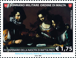 [The 400th Anniversary of the Birth of Mattia Preti, 1613-1699, Typ AWS]