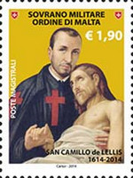 [The 400th Anniversary of the Death of St. Camillus de Lellis, 1550-1614, Typ AYA]