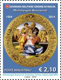 [The 450th Anniversary of the Death of Michelangelo Buonarroti, 1475-1564, Typ AYT]