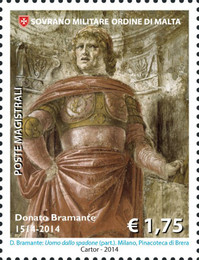 [The 500th Anniversary of the Death of Donato Bramante, 1444-1514, Typ AYU]