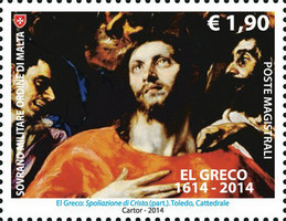 [The 400th Anniversary of the Death of El Greco, 1541-1614, Typ AYV]
