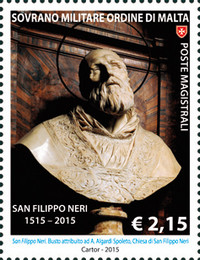 [The 500th Anniversary of the Birth of St. Philip Neri, 1515-1595, type AZS]