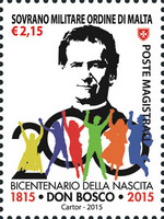 [The 200th Anniversary of the Birth of St. John Bosco, 1815-1888, Typ BAI]