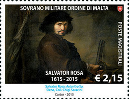 [The 400th Anniversary of the Birth of Salvator Rosa, 1615-1673, Typ BAY]