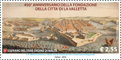 [The 450th Anniversary of the Founding of the City of Valletta, Typ BBY]