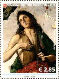 [St. John the Baptist, Patron of the Order, Typ BCG]